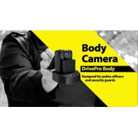 Buy cheap 1296P 140°field HD Police Wearable Camera with Infrared Night Vision , waterproof product