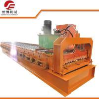 8050 Model Corrugated Sheet Making Machine , PPGI / GI Profile Roll Forming Machine