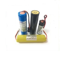 Buy cheap Portable Medical Headlight Battery Lithium Ion Battery 3.7V 7.4V Lithium Battery With Customized Size from wholesalers