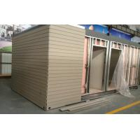 Buy cheap Artificial Wood Cladding For House Decoration , Smooth Surface Wood Effect Wall Cladding from wholesalers