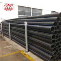 Buy cheap Black GB PN16 Hdpe Pn10 Pipe , Hdpe Pipe Pe100  Customized Size 20-1200mm from wholesalers