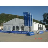 Buy cheap 12m*35m Rain Shelter Outdoor Event Tents Clearspan Structure For Large Party product