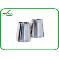 Stain finishing eccentric reducer pipe fitting for ss
