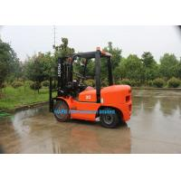 Buy cheap 3 Ton Diesel Forklift Truck With Isuzu C240 Engine Fork Length 1070mm Solid Tyre from wholesalers