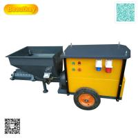 Buy cheap Srong Stator And Rotor 110V 220V Automatic Mortar Spraying Plastering Machine For Wall from wholesalers