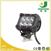 Buy cheap Cheap 18w led work light bar for ATVs, SUV, truck, Fork lift, trains, boat, bus from wholesalers