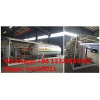 Buy cheap best price Factory sell customized 32m3 skid lpg station, mobile skid-mounted lpg gas refilling plant for gas cylinders from wholesalers