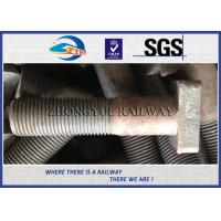 Buy cheap Customized M22X90mm Railway Bolt T-Shaped Track Bolts With Oiled Plain Colors from wholesalers