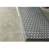 Buy cheap 304 Checked Plate Stainless Steel Surface Finish For Construction Site from wholesalers