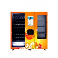 Buy cheap Energy Saving Healthy Juice Vending Machine With X-Y Axis Elevator from wholesalers