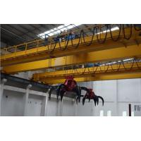 Buy cheap Workshop grab bucket overhead crane heavy overhead crane made in China from wholesalers