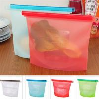 Buy cheap Factory 1L or 1.5L 4 colors Option Silicone Food Storage Bag from wholesalers