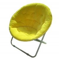 Buy cheap Padded Cushion Moon Saucer Leisure Steel Camping Chair from wholesalers