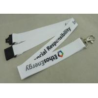 Buy cheap Sport Meeting Neck Custom Printed Lanyards Polyester With Mobile Holder from wholesalers