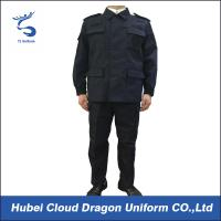 Buy cheap Durable Ripstop Police SWAT Uniforms , Dark Blue Military Army ACU Uniform from wholesalers