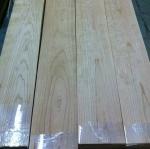 Buy cheap Quarter Cut Cherry Wood Floor Veneer Sheets Fine Straight Crown Grain from wholesalers