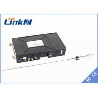 China Law enforcement HD Wireless Transmitter , A/V DVB - T transmitter with 5h baackup battery on sale