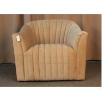 Buy cheap French Country Style Single Seater Living Room Couches Classic / Ancient One Person Sofa from wholesalers