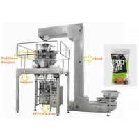 Buy cheap Walnuts Ffs Packing Machine , Touch Screen Operate Automatic Pouch Packing Machine from wholesalers