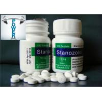 Buy cheap Stanozolol Tablets 10mg Androgenic Anabolic Steroids Muscle Mass Positive Effects from wholesalers