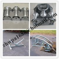Buy cheap Aluminum Cable Roller,Nylon Cable Roller,Heavy Duty Triple Corner Cable Roller product