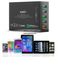 Buy cheap NEW Quick Charge 3.0 AUKEY 5 Port USB Charger for Samsung Galaxy S7/S6/Edge, LG G5, iPhone, Nexus 6P & More from wholesalers