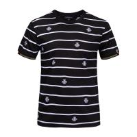 Buy cheap Customised Stylish Mens T Shirts Short Sleeve 100% Organic Cotton Material from wholesalers