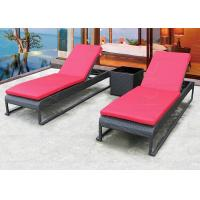 Buy cheap Outdoor Chaise Lounges Sun Lounger Pool Chaise Lounge with Cushion from wholesalers