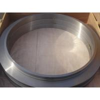 Buy cheap Large Flange ASTM Forged Steel Rings Of  Round Disk Shape , Carbon Steel  ISO 9001 - 2008 product