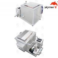 Buy cheap Engine / Auto Parts Ultrasonic Cleaning Equipment 2400W 28/40KHz With Filter from wholesalers
