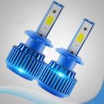 3200 Lumens COB Led Car Headlights, 8-32v Led Replacement Headlights