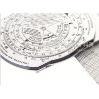 Buy cheap Kearing Aviation Slide Rule Air Force Usage Metal Pocket Slide For Pilot Training CPU-26A/P from wholesalers