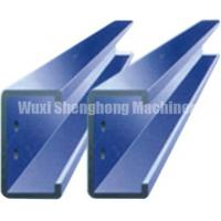 Buy cheap Hot Dip Galvanized Steel Changeable Purlin Forming Machine C / Z Series from wholesalers