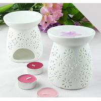 Buy cheap Fashion Fragrance Ceramic Aromatherapy Oil Burner with Tart Warmer TS-CB088 from wholesalers