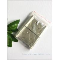 """Buy cheap 3"""" Np Pivot Soft Close Hinges , Heavy Duty Hinges 2 Pieces 3 Holes High Security product"""
