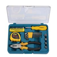 Buy cheap 23 pcs mini tool set ,with hex key ,pliers, screwdriver bits ,sockets . from wholesalers