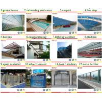 Buy cheap Colored polycarbonate hollow PC sheets roofing plastic ceiling panels from wholesalers