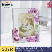 Buy cheap Creative Non Reflective Glass Photo Frames , A3 Glass Photo Frame High Rigidity from wholesalers