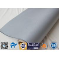 Buy cheap Silicone Coated Fiberglass Fabric Grey 0.7MM 28OZ Strainer Insulation Covers Cloth from wholesalers