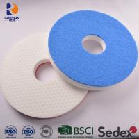 Buy cheap Floor clean pad of melamine sponge floor pad with scrubber Suitable for machines under 200 RPM from wholesalers
