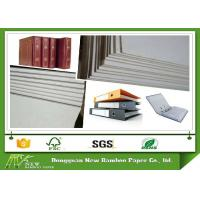 Buy cheap Roll and Sheets Grey Board / Grey Chipboard for Book Cover / Arch file from wholesalers