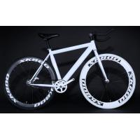 Buy cheap 60mm aluminum alloy rim fixed gear bike from wholesalers