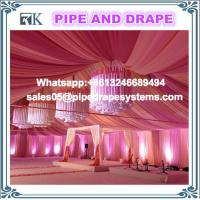 Buy cheap Aluminum Pole trade show photo booth pipe and drape for wedding tent ceiling drapes backdrop kits from wholesalers