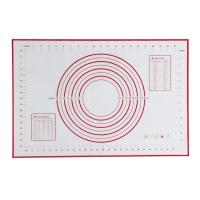 Buy cheap Customized Logo Customizable Microwave Flexible Rolling Extra Large Table Pan Placemat Full Size Baking Pad Silicone with paper from wholesalers
