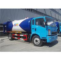 Buy cheap 4x2 12CBM 5 Ton 6 Tons LPG Delivery Truck 12000L Color Customized For HOWO from wholesalers