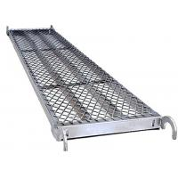 Buy cheap Durable 24 Ft Aluminum Scaffold Plank  Pre - Galvanized Steel Scaffold Boards product