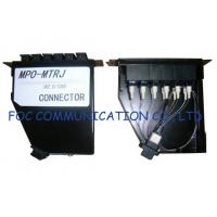 Buy cheap Fiber Optic Patch Panel For Telecoms / MPO Cassette Full Loaded With MTRJ Pigtails from wholesalers