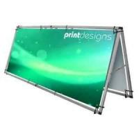 Buy cheap Fashionable 246 width 96 height Aluminum alloy Monsoon Outdoor shows Banner Stands from wholesalers