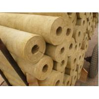 Buy cheap Soundproof rock wool pipe insulation product