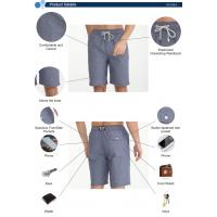 Buy cheap High Quality  Summer men's stretch fabric anti-uv swimwear boardshort for surfing from wholesalers
